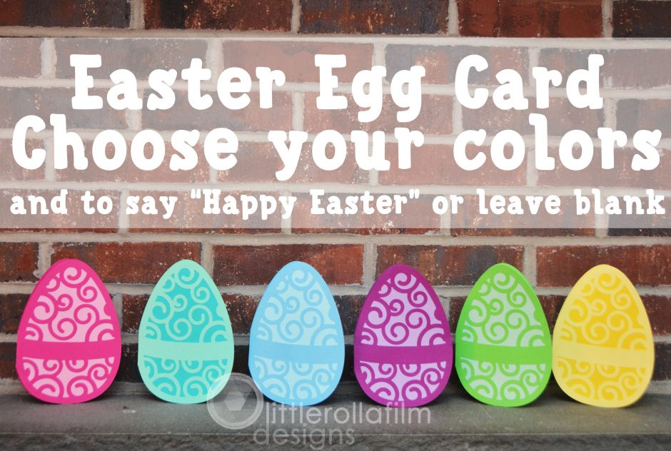 Easter Egg Handmade Greeting Cards