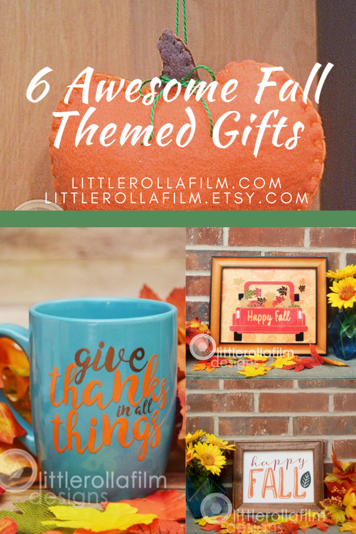 6 Awesome Fall Themed Gifts